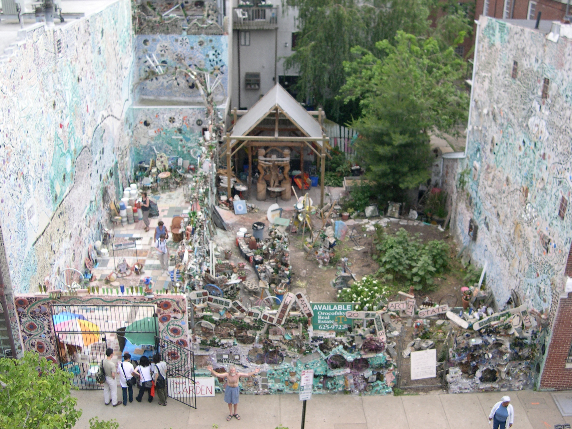 History Philadelphia S Magic Gardens